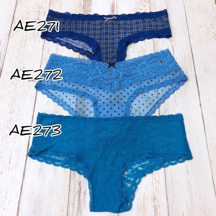 Maple麋鹿小舖 American Eagle * AE  蕾絲低腰小褲褲 * ( 現貨3款 )