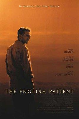 英倫情人 The English Patient - 奧斯卡最佳影片 - 美國原版雙面電影海報 (1996年)