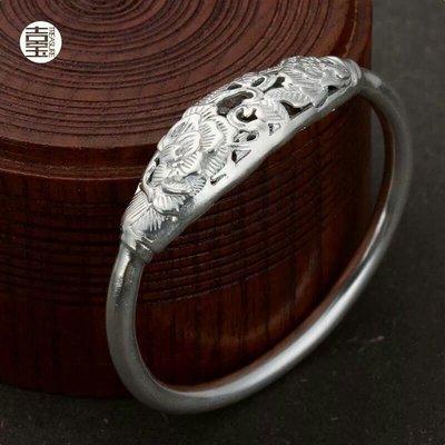 【dear pig下標♥】純銀手鐲 純銀手環 純銀鐲子 岫玉 髮簪