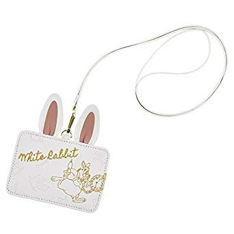 *B' Little World * [現貨]東京迪士尼專賣店限定商品/時間兔卡套夾/證件套/不思議王國/東京連線