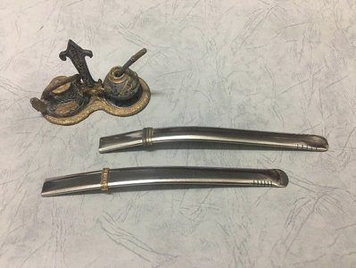 【友客里】((2瑪黛茶))馬黛茶吸管-金屬吸管不鏽鋼材質-阿根廷原裝進口