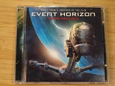 《啟元唱片》電影原聲帶 O.S.T. 撕裂地平線 EVENT HORIZON 片況良好