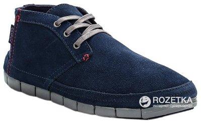 Look 鹿客 Crocs舒躍奇沙漠靴(深藍/炭灰色)201195