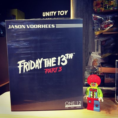 MEZCO TOYZ ONE:12 COLLECTIVE Jason Voorhees (Unity Toy)