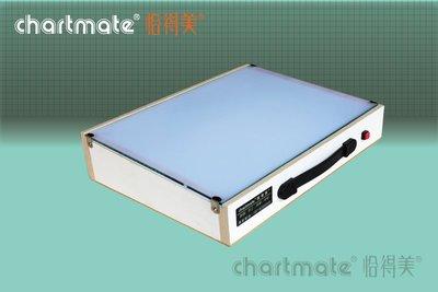 chartmate 恰得美 製圖桌:LB-A3W 恰得美 A3 光桌/透光桌/描圖桌