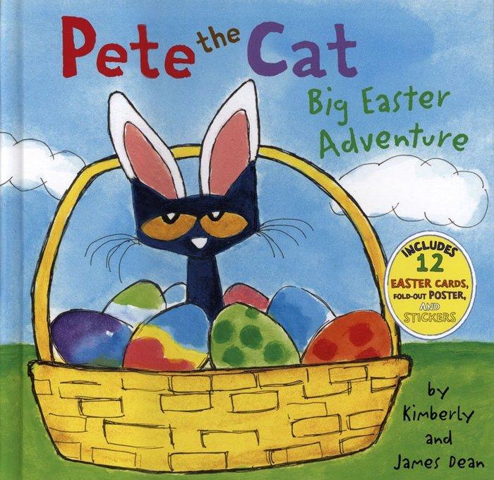 *小貝比的家*PETE THE CAT:BIG EASTER ADVENTURE /精裝/3~6歲