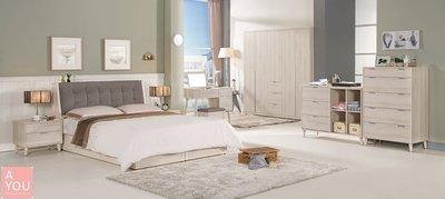 愛莎5尺被櫥式雙人床   促銷價9700元(免運費)【阿玉的家2018】