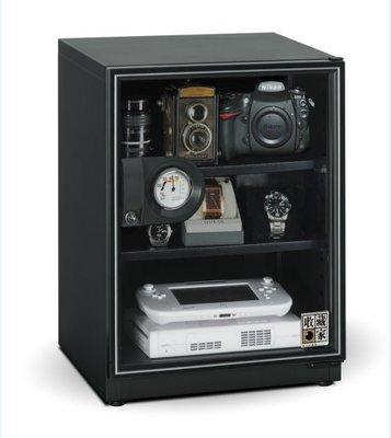 【歐風家電館】收藏家  3層式 電子防潮箱 65公升 AD-66P