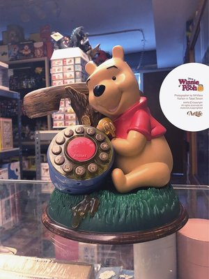 ArtLife @ Walt Disney Winnie Pooh Telephone 迪士尼 經典 小熊維尼 老電話