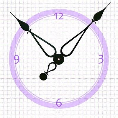【鐘點站】H197172 SKP鎖針機芯專用指針 / DIY 時鐘 鐘針/分針19.7公分 時針17.2公分