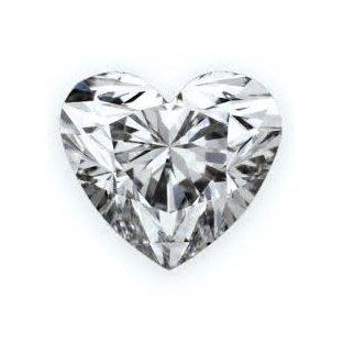 GIA 0.53克拉 D VVS2 Heart Cut Diamond (50分心型切刻鑽石價格)