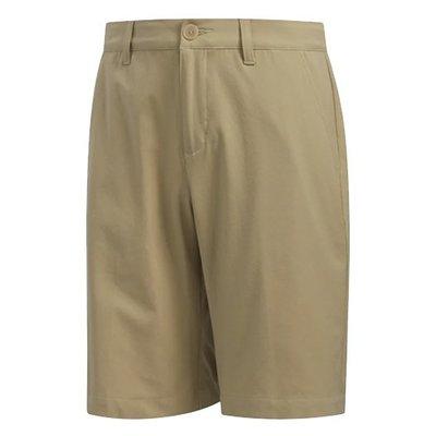 [小鷹小舖] Adidas SOLID SHORT RAWGOL 阿迪達斯 高爾夫 小孩 青少年 卡其短褲 柔軟彈性