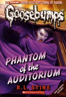*小貝比的家*GOOSEBUMPS#20:PHANTOM OF THE AUDITORIUM/平裝/7~12歲/小說