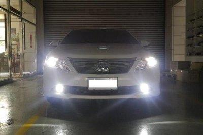 (柚子車舖) 豐田 2006-2019 YARIS 直上 LED 霧燈 -可到府安裝 長效保固18個月 a
