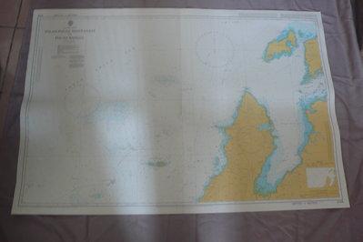 藍色小館46-1-DEPTHS IN METRES航海圖-PULAU-PULAU MANTANANI TO