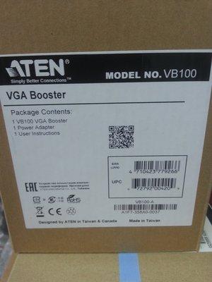 ATEN VGA 訊號放大器 訊號延長器  VB100 延伸 訊號傳輸 距離最遠 70公尺  訊號延長器 寬螢幕 現貨
