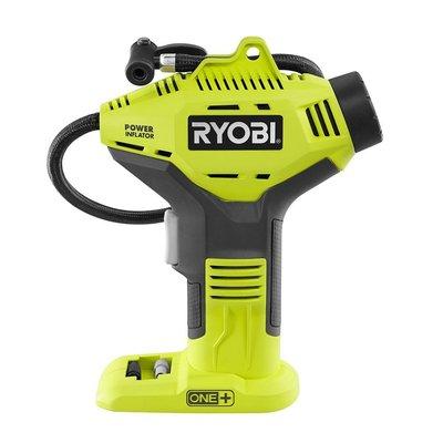 RYOBI 18VONE +無線充電式充氣機僅工具淨機器