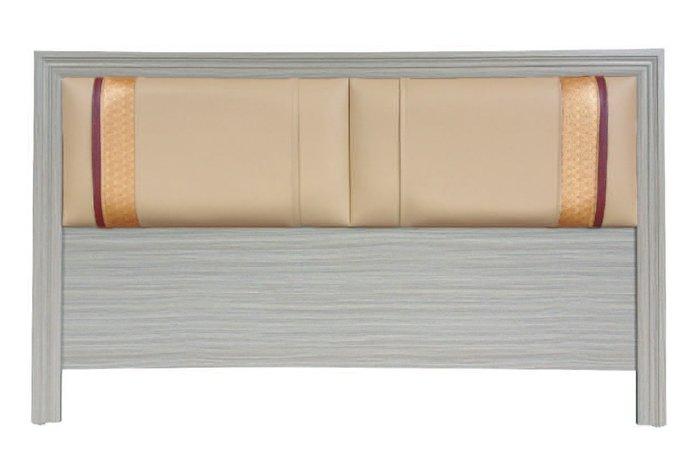 【南洋風休閒傢俱】精選時尚床片  雙人加大床頭片-  金條床片6尺  CY104-22
