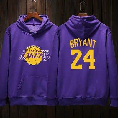 🎀黑曼巴Kobe Bryant科比長袖連帽T恤上衛衣🎀NBA湖人隊Nike耐克愛迪達運動籃球衣服大學純棉T男女987