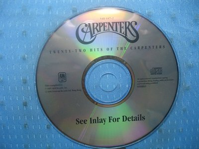 [無殼光碟]HD Carpenters Twenty Two Hits of the Carpenters