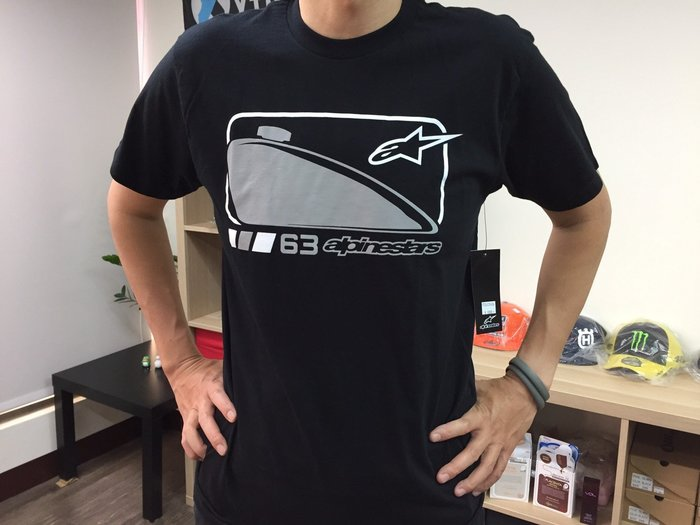[阿菊潮流工作室] Alpinestars Black Petroleum T-Shirt [免運費]