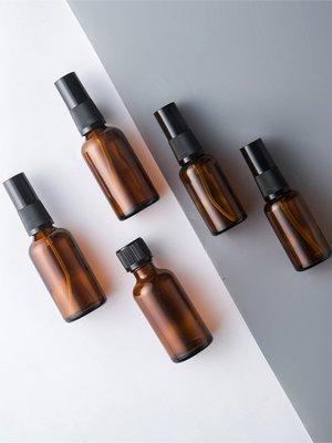 家居收納 玻璃化妝水分裝瓶旅行補水噴瓶化妝品噴壺乳液化妝瓶噴霧瓶 風水擺件