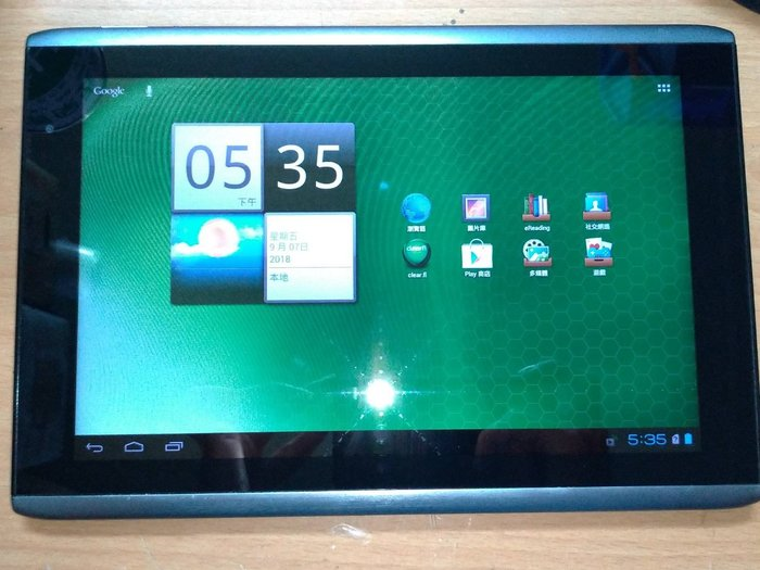 ☆手機寶藏點☆ 二手 Acer ICONIA Tab A500 平板 3G版 追劇