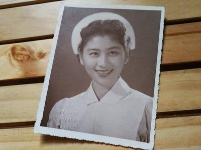 銘馨易拍重生網 PSS3 早期 1953年 憶難忘 女護理師 美女照 保存如圖(高質感美女照,有鋼印非翻拍品) 特價讓藏