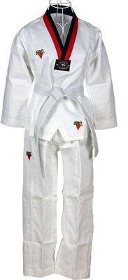 現貨兒童跆拳道服成人跆拳道服裝(整套+腰帶)