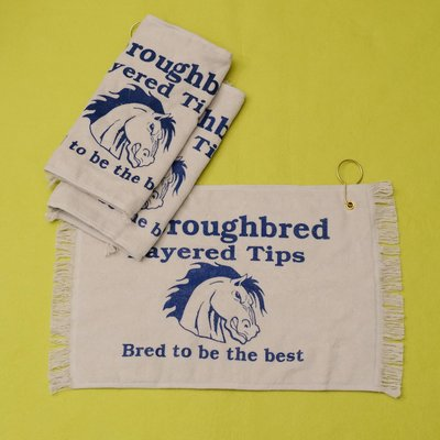 Thoroughbred Tips Towel / RH皮頭 毛巾