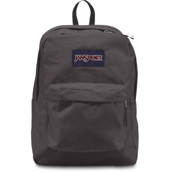 Maple麋鹿小舖 美國品牌JANSPORT * JANSPORT 灰色基本款後背包 * ( 現貨 )