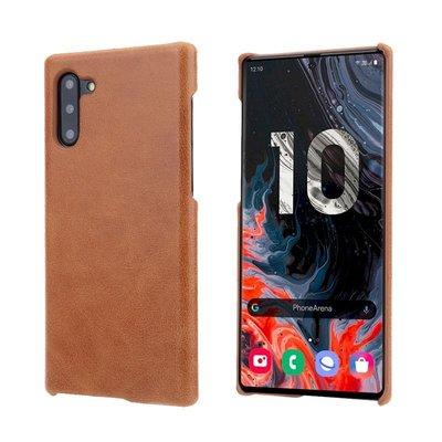 Samsung Note10+ Plus N10+ 頭層牛皮真皮 原廠保護殼背蓋背殼手機殼 手機套皮套保護套