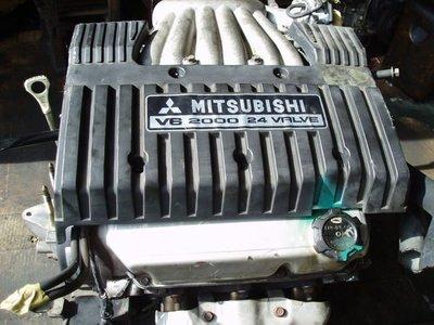 三菱 GALANT 引擎 6A12 2.0 6A13 2.5  VR4 引擎 自動變速箱 電腦 高雄市