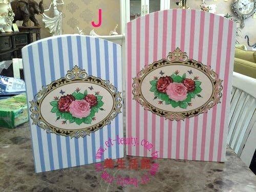 美生活館--全新鄉村生活雜貨ZAKKA ---三朵玫瑰  圖案(大小兩尺寸) 鑰匙盒 KEYBOX 收納盒J