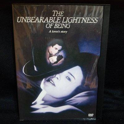 布拉格的春天華納紙盒版 The Unbearable Lightness of Being 正版三區 DVD