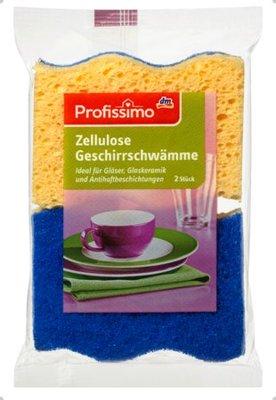 現貨!!德國原裝 廚房好物 DM Profissimo 纖維素雙面洗碗/洗鍋/多用途海綿菜瓜布 婆媽廚房好幫手
