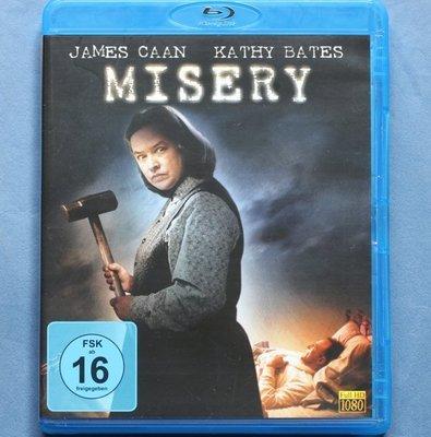 戰慄遊戲Misery全新歐洲進口藍光BD 中文字幕 凱西貝茲、詹姆斯肯恩
