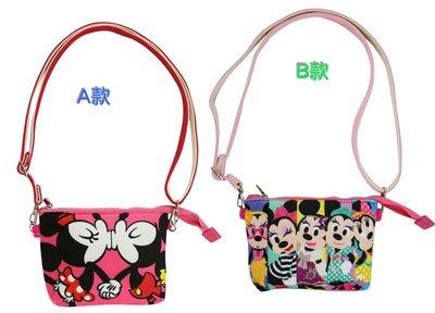 【卡漫迷】 米奇 米妮 手機袋 可觸控 ㊣版 拉鍊 肩背 萬用 智慧型手機 外出包 米老鼠 Mickey Mouse
