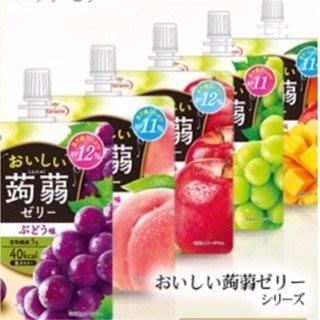 +東瀛go+ 日本暢銷 Tarami  達樂美蒟蒻 水果吸凍 蘋果/青葡萄/葡萄/水蜜桃/芒果 吸管果凍飲料 凍飲