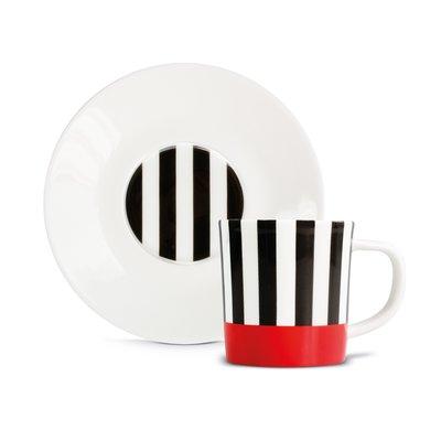 REMEMBER Espresso mug with saucer 骨瓷義式咖啡杯組(3款)