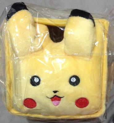 全新pokemongo神奇寶貝同款皮卡丘比卡超毛絨收納抽屜櫃首飾盒