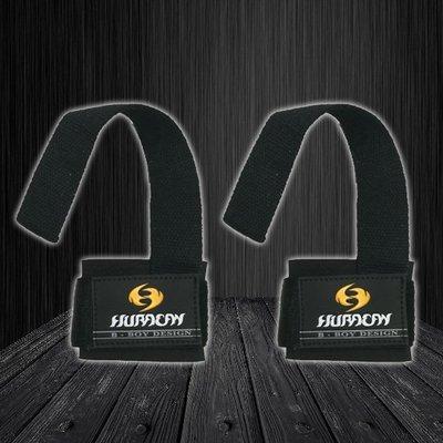 Huracan 健身重訓 護腕拉力帶 護腕結合拉力黑A21