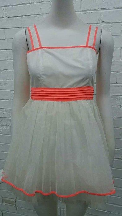 娃娃3M白色洋裝特價980元含運費