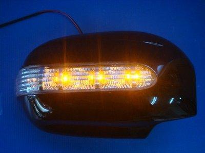 小亞車燈╠ 全新高質感PREMACY.TRIBUTE.ESCAPE後視鏡附LED燈外蓋