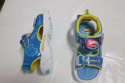 ~Hello Carbot衝鋒戰士 兒童軟Q拖鞋 舒適防滑 台灣製 中童 男童17-22【HC96096】~