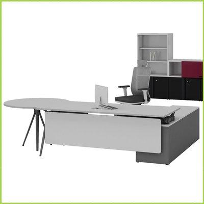 【OA批發工廠】Bell 貝爾系統主管桌 開放式辦公桌 SOHO族電腦桌 簡約現代設計 客製品需先詢價