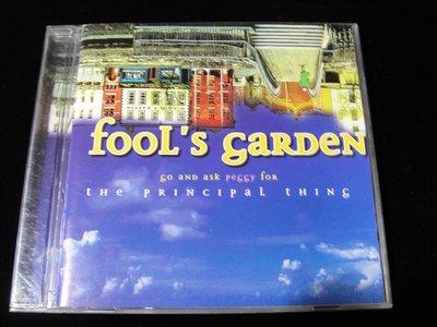 【198樂坊】傻瓜花園合唱團 FOOL'S GARDEN (The Principal Thing..日版)BZ