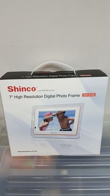 "Shinto 7"" High Resolution Digital photo Frame DT-710"