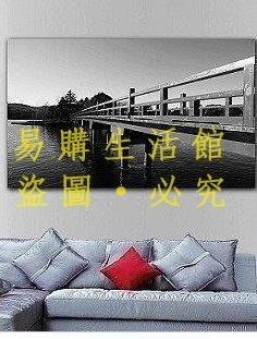 [王哥廠家直销]藝軒 客廳無框畫裝飾畫 臥室掛畫 壁畫 餐廳單幅玄關畫 古建築橋LeGou_170_170