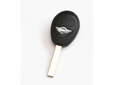 迷你 MINI COOPER R53 R50 R52 汽車遙控晶片鑰匙 遙控器 外殼 更換 維修  鑰匙殼